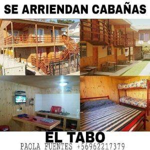 Cabañas Bellavista en El Tabo nuestras cabañas
