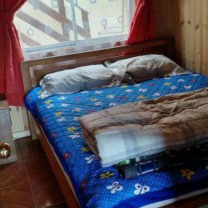 Cabañas Bellavista en El Tabo dormitorios